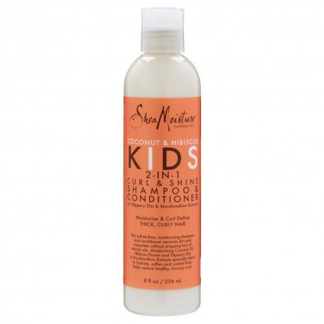 SM COCONUT HIBISCUS KIDS 2in1 SHAMPOO & COND