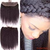 LACE FRONTAL KINKY STRAIGHT 13X4